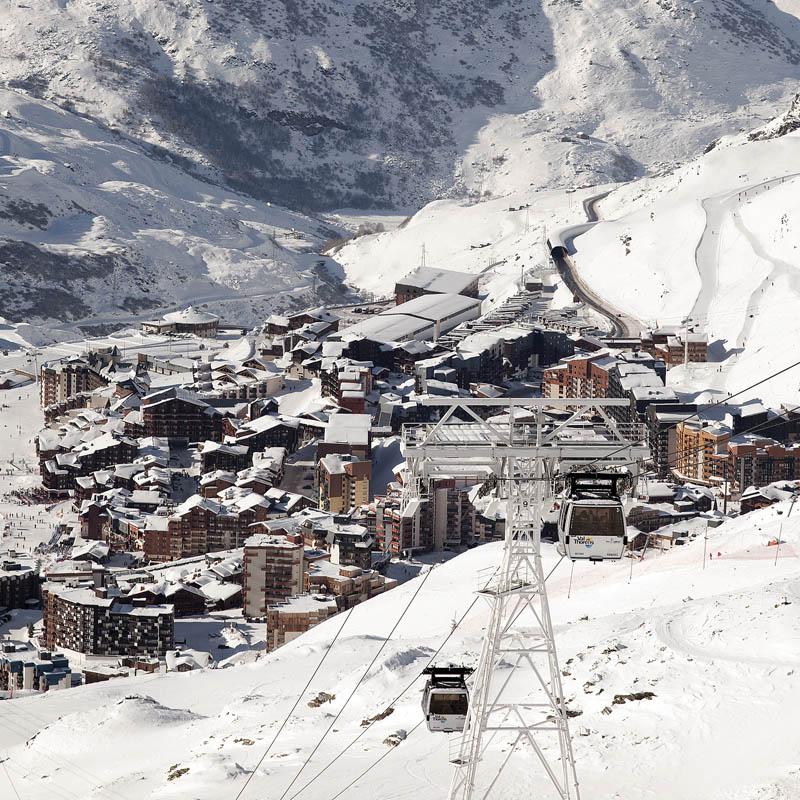 Валь Торанс, самый высокогорный курорт в Альпах