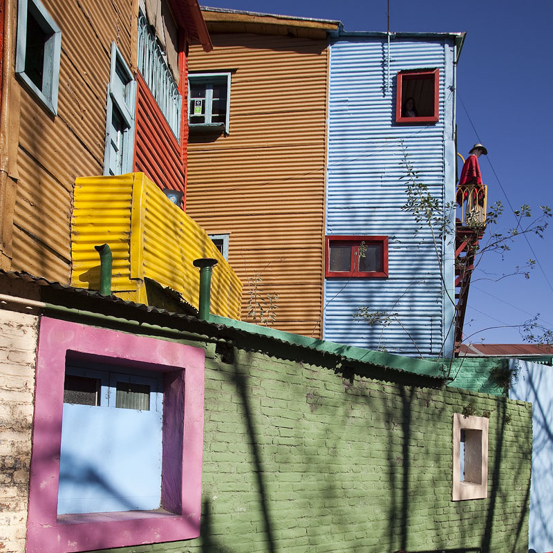 Буэнос-Айрес, район Ла Бока © Proalps