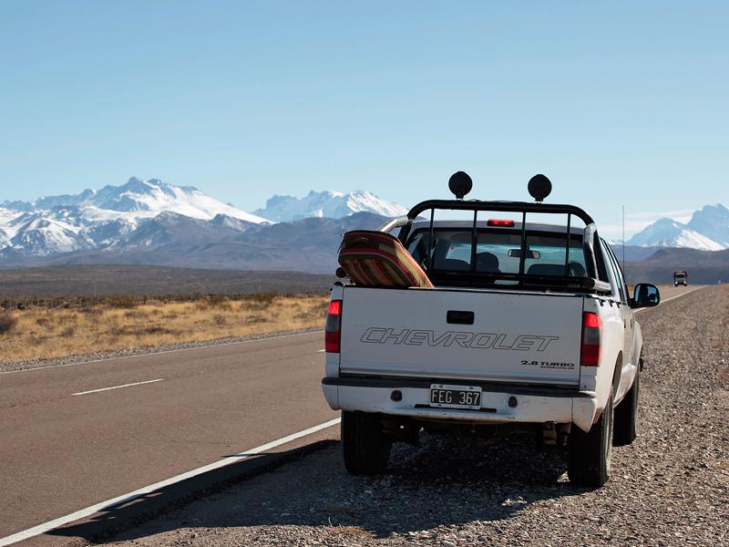 Через пампасы дальше на юг, в Лас Леньяс © Proalps