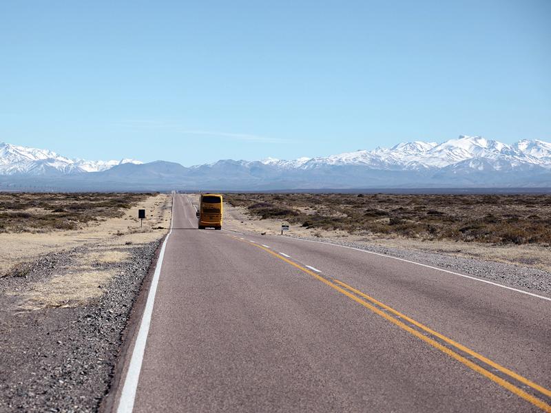 Дорога от Сан-Рафаэля к Андам, в Лас Леньяс © Proalps