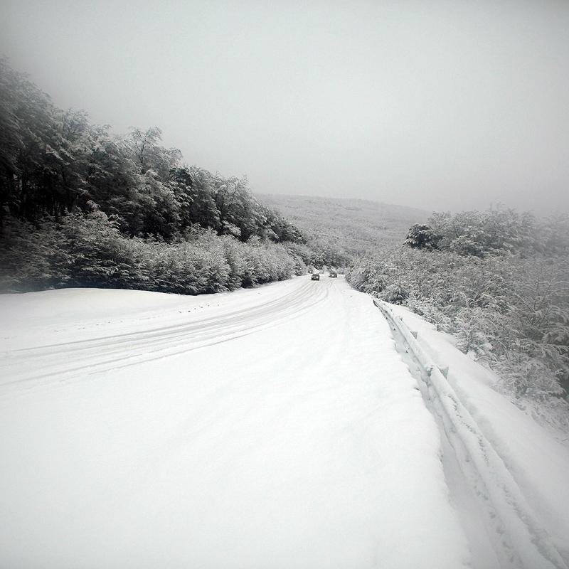 Дорога из Ушуайи к леднику Мартиал над городом © Proalps