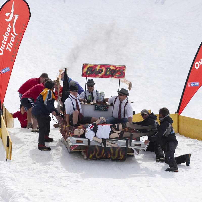 Открытие или закрытие сезона - в Зельдене все серьезно! © Proalps