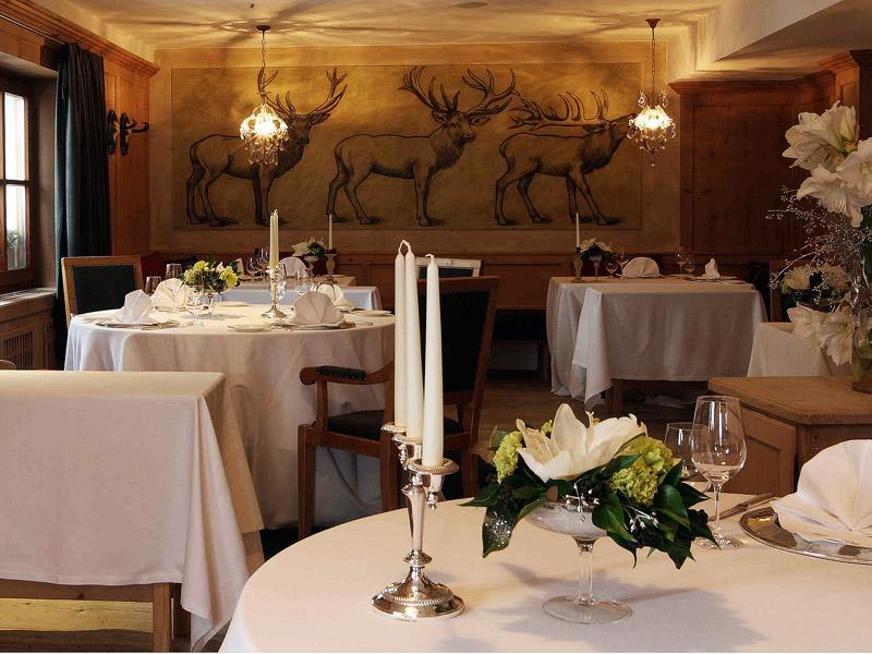 Ресторан St.Hubertus в Сан Кассиано (Альта Бадия), чей шеф-повар Норберт Нидеркофлер - один из звездных поваров на трассах Альта Бадии этой зимой