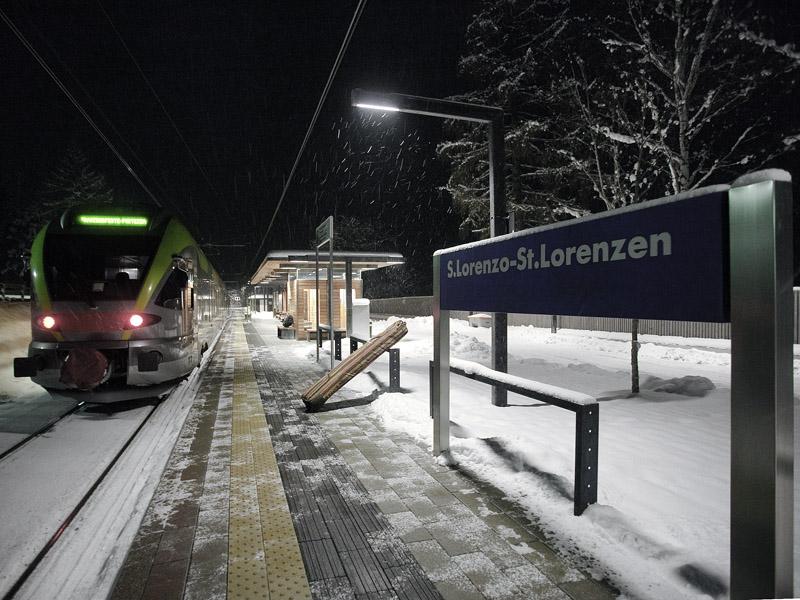 Вокзал в Сан-Лоренцо