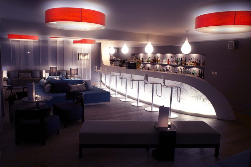 Лаунж в дизайнерском Nevai Hotel © OT VERBIER-St.Bernard