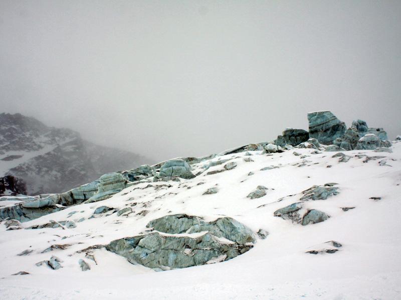 Ледник в Саас-Грунде