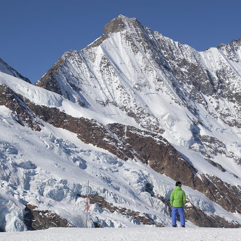 Ледник над Саас-Фе