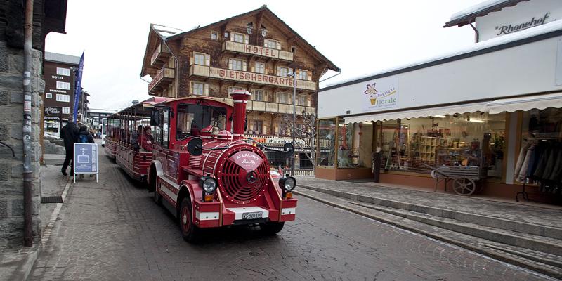 Электромобиль в Саас-Фе
