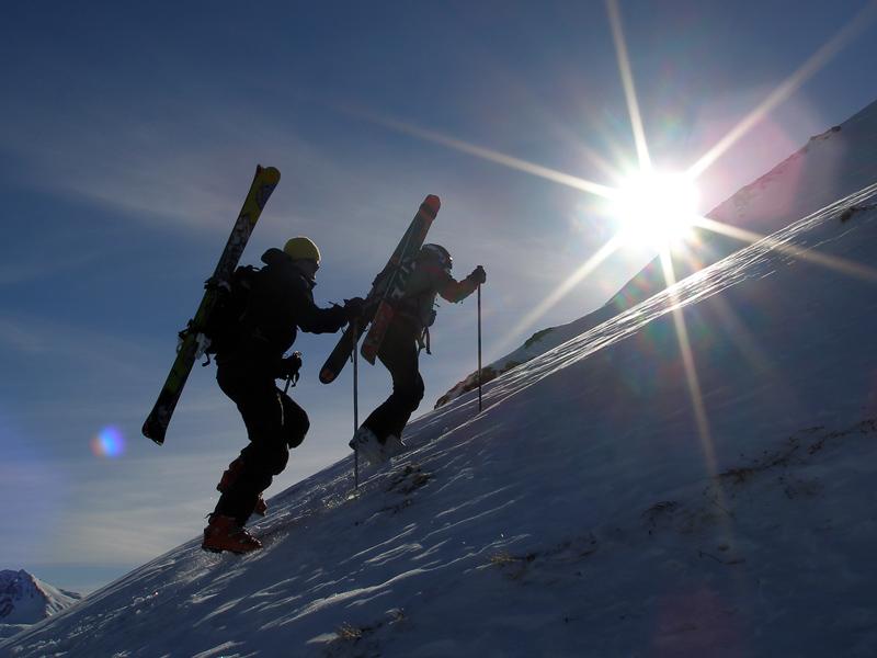 Скитур на Ринерхорне © Full Moons Davos
