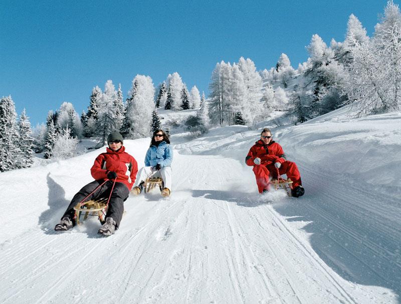 Санный спуск в Давосе © Davos Destinations