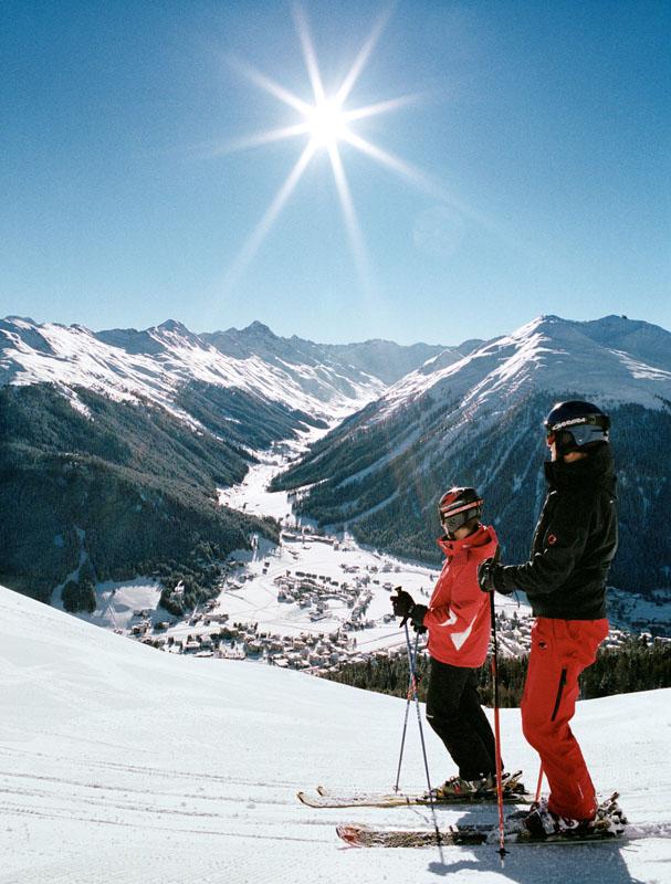 Зона катания Давоса © Davos Destinations