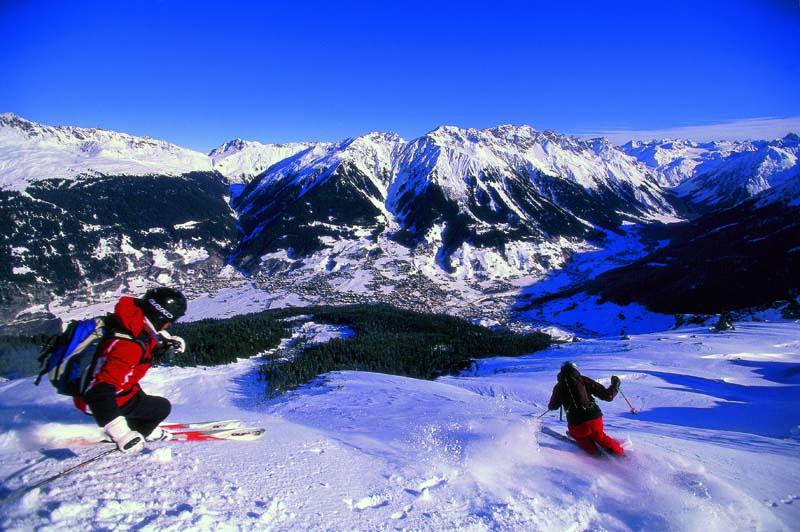 Зона катания Клостерса © Davos Destinations