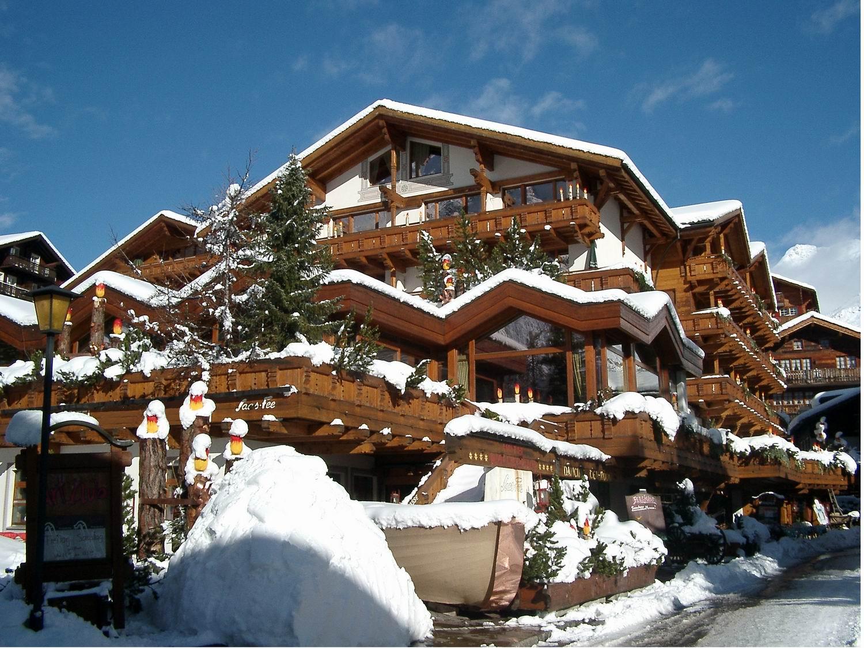 Ferienart Hotel Resort & SPA в Саас-Фе © Saas-Fee Tourismus