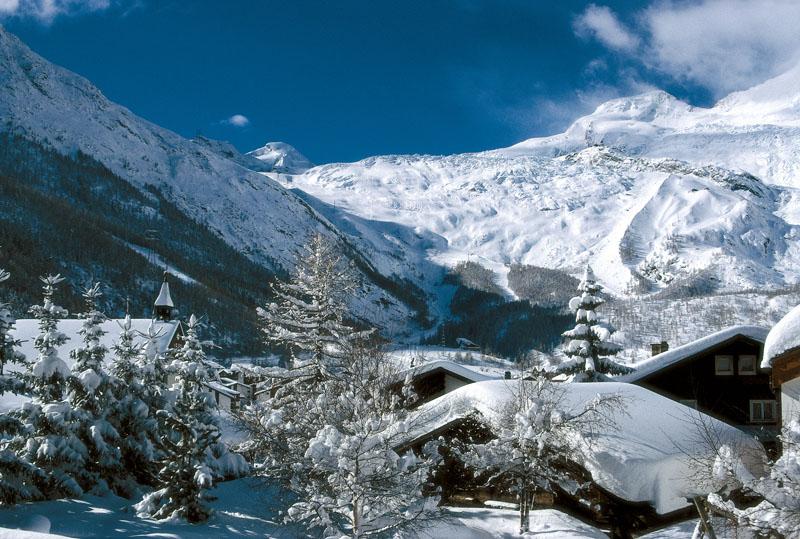 Жемчужина Альп, Саас-Фее © Saas-Fee Tourismus