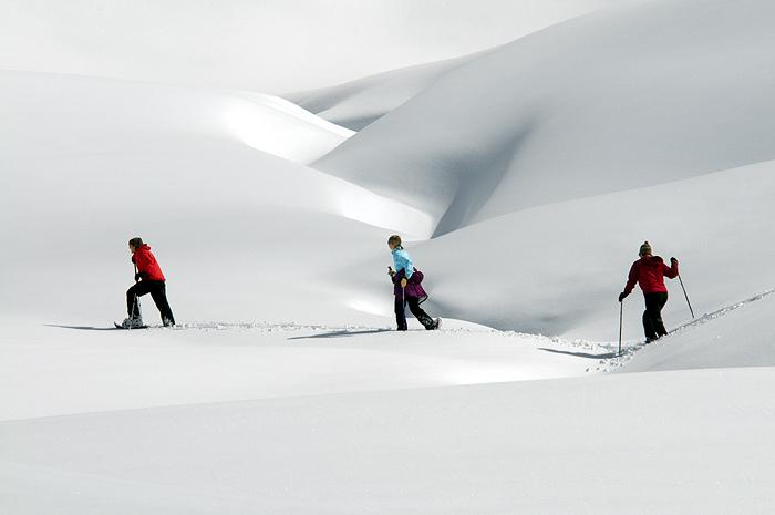 Прогулки на снегоступах © OT VERBIER-St.Bernard