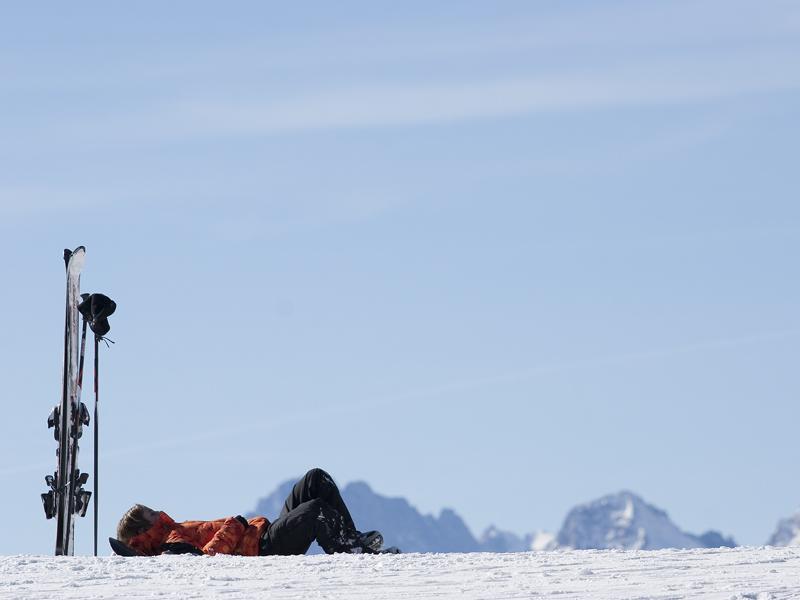 И от лыж нужно иногда отдыхать:)