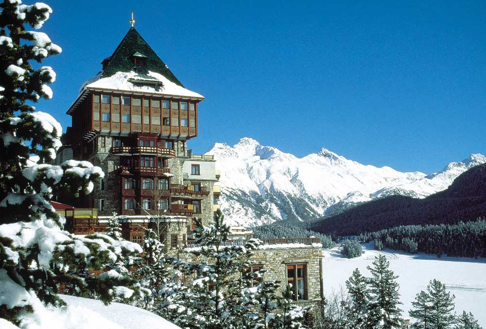 ENGADIN St.Moritz: Badrutt's Palace Hotel St. Moritz