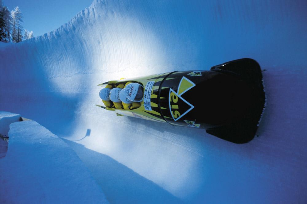 ENGADIN St. Moritz: Bob fahren