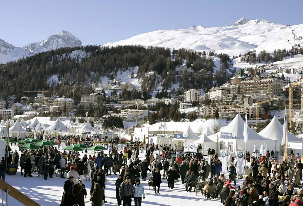 Impression vom White Turf in St. Moritz