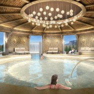 B4 - Interior Spa Banya Round Room