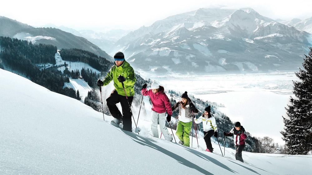 Schneeschuhwandern - snowshoeing