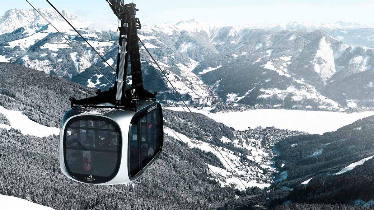 winter_Porsche Gondel mit See