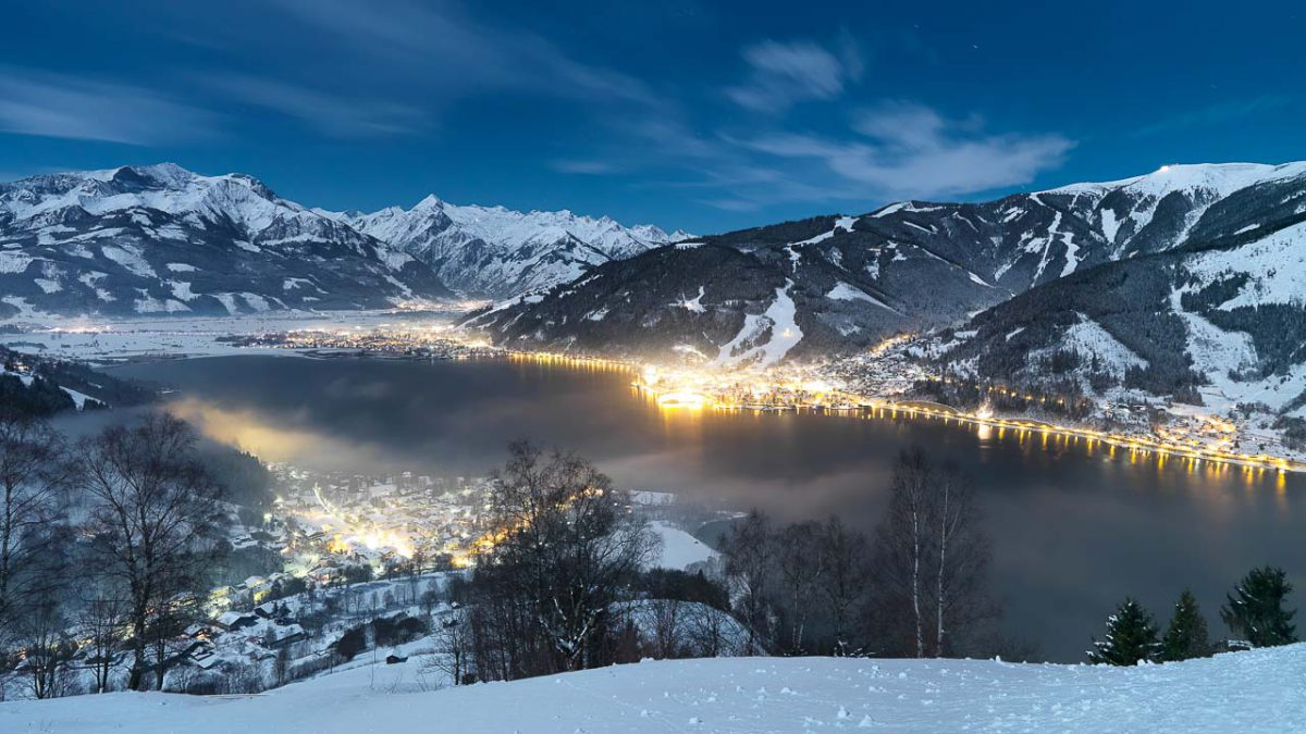 winter_Zell am See AT NIGHT
